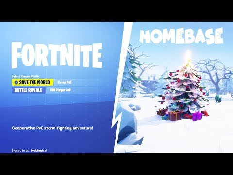 Snowing in His Homebase Season 7 Scammer Gets Scammed In Fortnite Save The World PVE