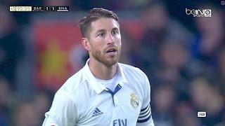 Sergio Ramos vs Barcelona A 720p HD 031216 by Real MadridUniverse