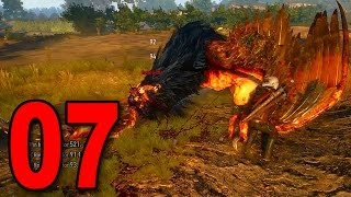 The Witcher 3 - Part 7 - Killing the Griffin (Wild Hunt Let