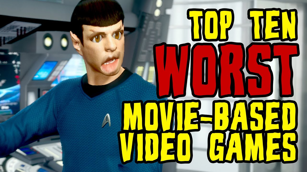 New Tftw Top 10 Worst Movie Based Video Games Live Now