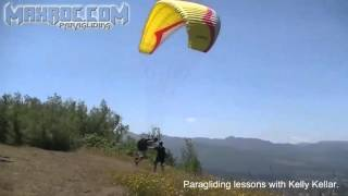 Paragliding lessons in Oregon
