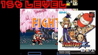 Fatal Fury: First Contact (1999, Neo Geo Pocket Color) - 1st Level