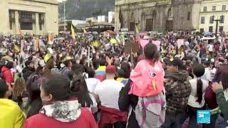 Paro nacional en Colombia por la tercera reforma tributaria del presidente Duque