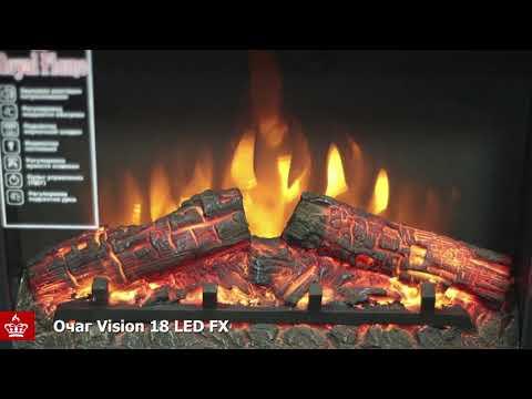 Электрический Очаг Royal Flame Vision 18 LED FX. Видео 1