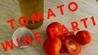 experimental tomato wine 10% part 1