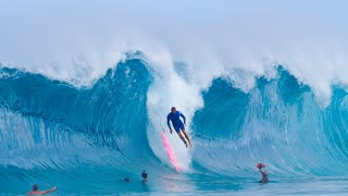 SCARY WIPEOUTS AT KEIKI SHOREBREAK WITH CLARK LITTLE!