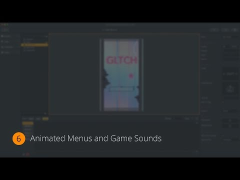 Animated Menus and Game Sounds | Make Your Own Game 06