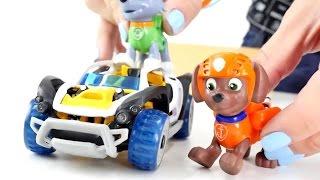 Kinderfilm - Paw Patrol - Wir bauen einen Jeep - Zuma und Rocky im Einsatz