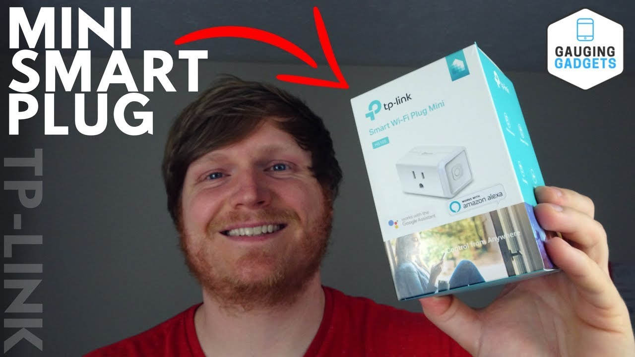 TP-Link Smart Wifi Plug Mini Review - Kasa Smart HS105 Setup