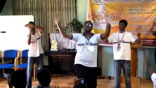 "Vision-Net Ministries ""Bangalore,India Youth Camp 2012""(Bless India Performance By Malaysian Youths)"