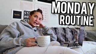 MY MONDAY ROUTINE! | Kenzie Elizabeth