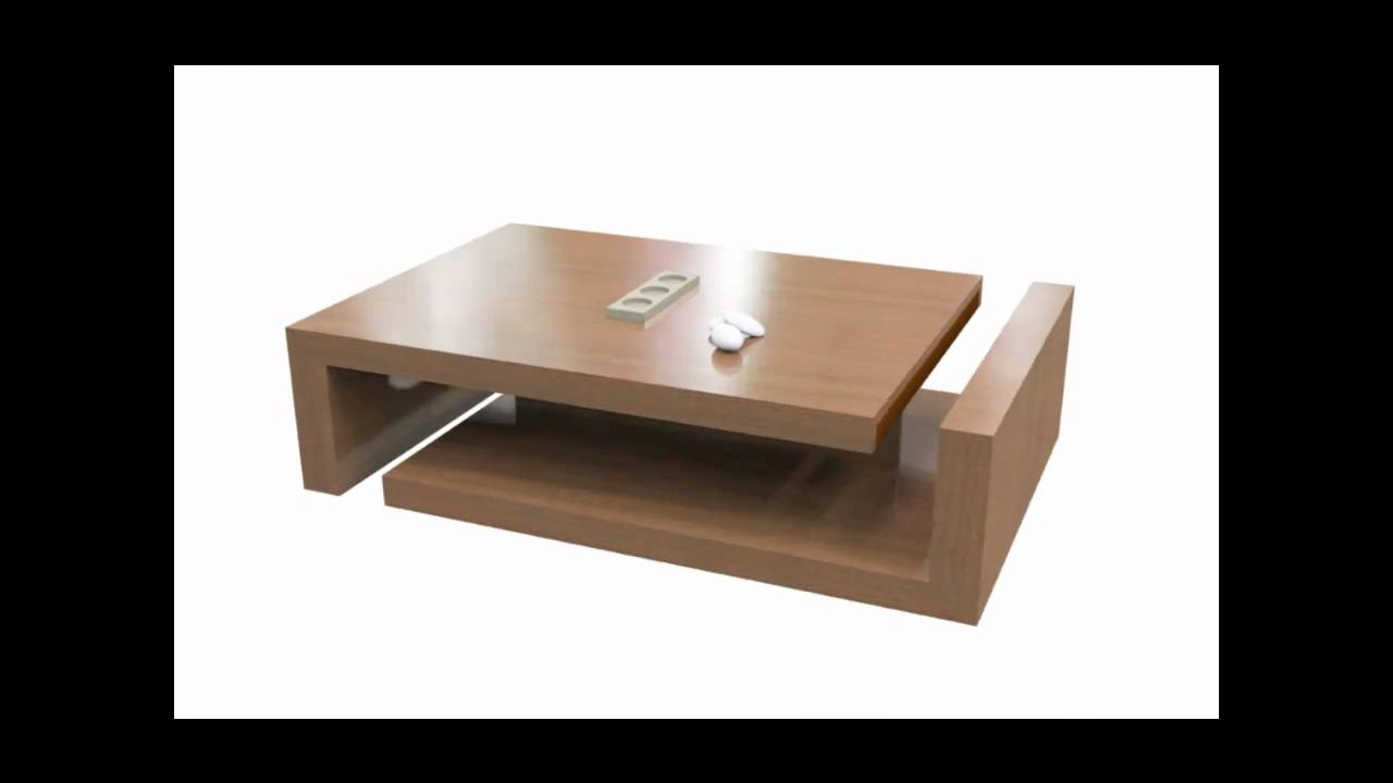 Faire soi meme la table basse bielo youtube - Comment faire une decoration de table ...