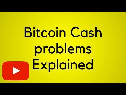 Bitcoin Cash Hard Fork Problems EXPLAINED