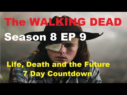 The WALKING DEAD SEASON 8 EPISODE 9 - Life, Death and the Future LIVE DEBATE