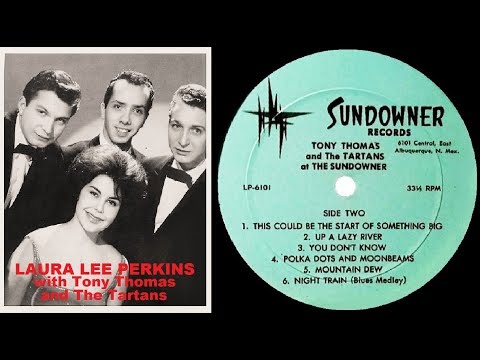 LAURA LEE PERKINS with Tony Thomas And The Tartans (Live 1963)