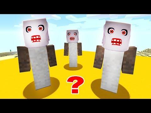 HANGİSİ GERÇEK BÜYÜKANNE GRANNY? 🤣 - Minecraft