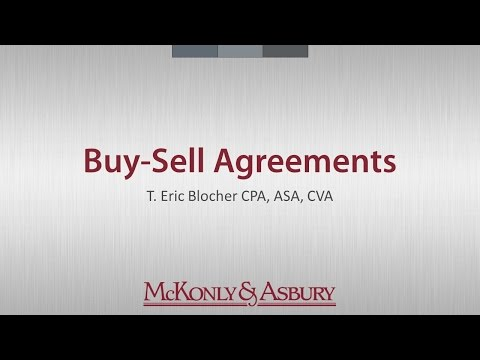 Focus on Learning: Buy-Sell Agreements