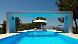 Ibiza luxury villa for sale with stunning sea views  |  Villa lusso vendita Ibiza vista mare