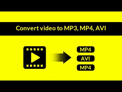 Video File Converter 2018 Tutorial - Convert Video To MP3, MP4, AVI And Other Formats