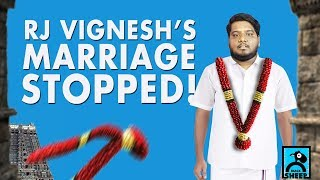 RJ Vignesh's Marriage Stopped? | Vina With Vicky | RJ Vignesh | Black Sheep