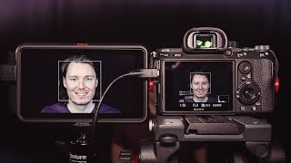 PROOF: Sony Face Detection AF Working with 4K HDMI (Atomos Ninja V)
