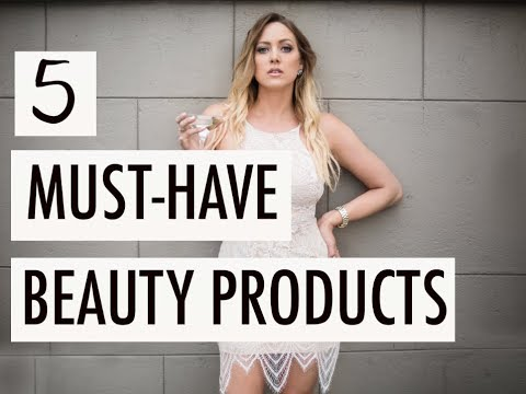 5 MUST-HAVE BEAUTY PRODUCTS : Chelsea's Vanity : Episode 5