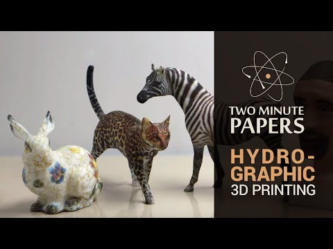 Hydrographic Printing | Two Minute Papers #7
