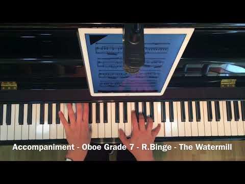 Accompaniment - Oboe Grade 7 - R.Binge - The Watermill