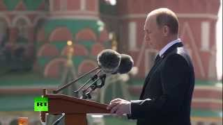 Владимир Путин впервые объявил минуту молчания на параде Победы на Красной площади