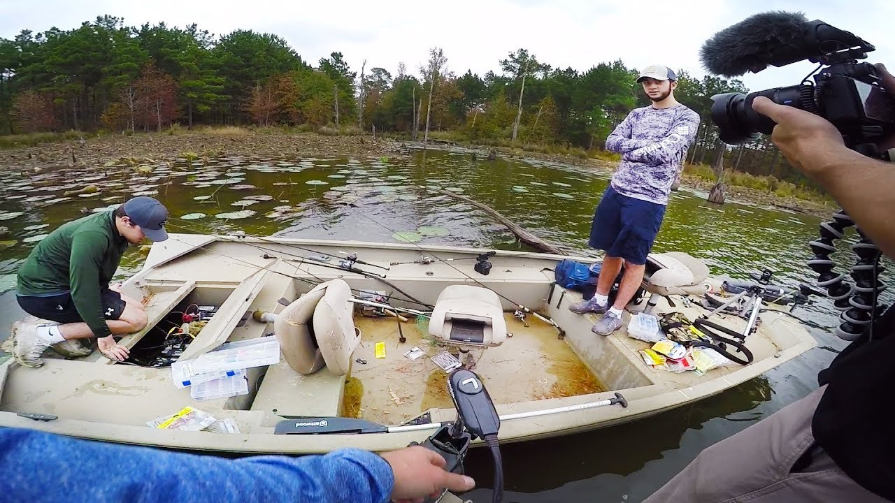 How to sink a boat 101 download for Lunkerstv fishing rods