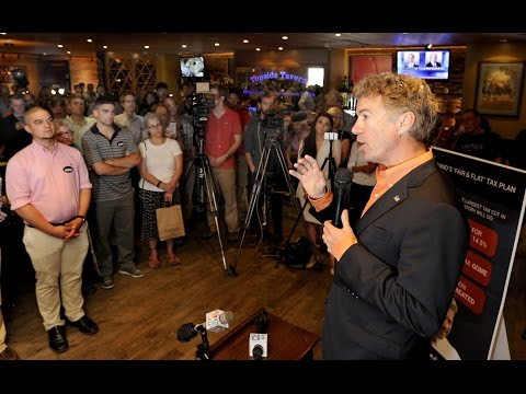 Rand Paul New Hampshire Campaign Speech Highlights