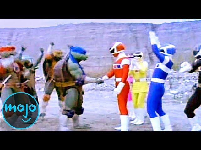 Top 10 Best & Worst Power Rangers Crossover Episodes
