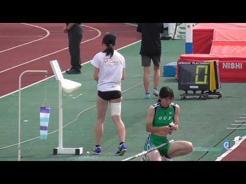 第102回日本陸上競技選手権大会女子棒高跳びとハンマー投げ最終投擲
