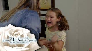 Ana Victoria sufre la separación de sus padres   Lo que se enseña al corazón   La Rosa de Guadalupe