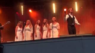 Mando Diao & Dalarnas Choir - Infruset live in Rättvik/Dalhalla