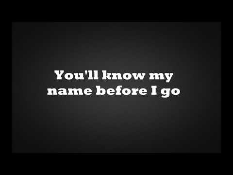 Guy Sebastian - Before I Go (You'll know my name) lyrics