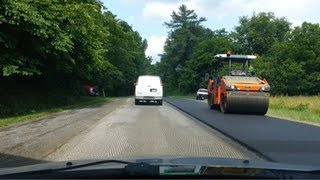 New Asphalt Paving On US Rt. 340 Between Bentonville & Front Royal, Va.