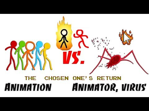Animation vs Animator - How the virus was created (Alan Becker) | By ArthurDash64 (Change of scene)