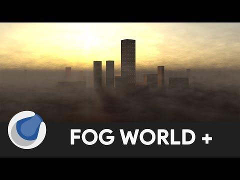 Dynamic Fog Environment - MAXON Cinema 4D (Tutorial)