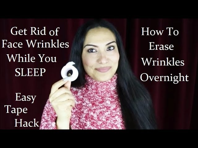 How To Get Rid Of Face Wrinkles Overnight No Botox Youtube