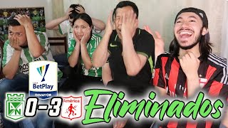 REACCIÓN ATL. NACIONAL vs AMÉRICA DE CALI (0-3) CUARTOS DE FINAL Liga Betplay Dimayor