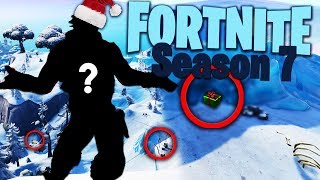 Fortnite Season 7 Secrets.. NEW Cave, Iceberg, Zip-Lines and MORE!