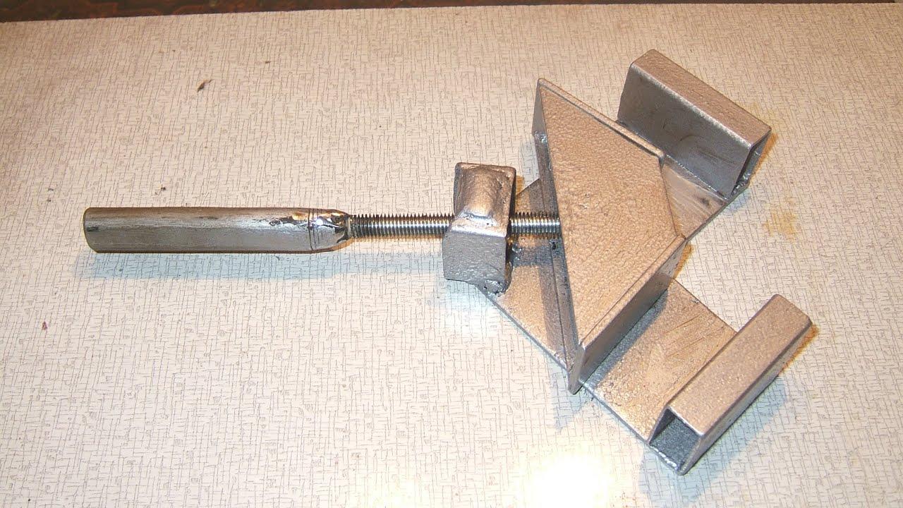 Купить тиски и струбцину угловую (90 градусов) для сварки в интернет магазине в москве blacksmith. Доступные цены на зажимы для сварочных работ.