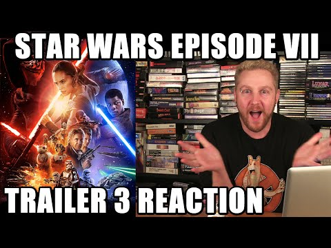 STAR WARS EPISODE VII TRAILER 3 REACTION! - Happy Console Gamer