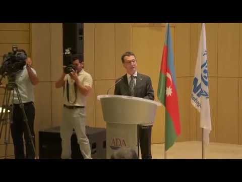 World Refugee Day, ADA University, Baku, Azerbaijan   20 06 17