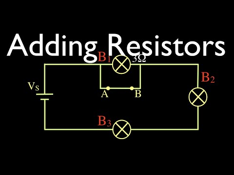 Resistors In Electric Circuits (4 Of 16) Adding Resistors To Series Circuits, Part 1