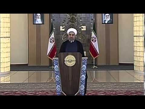 Iran nuclear deal  Hassan Rouhani reaction