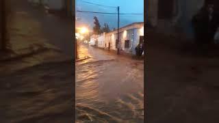 Video: Impresionante lluvia en Tilcara