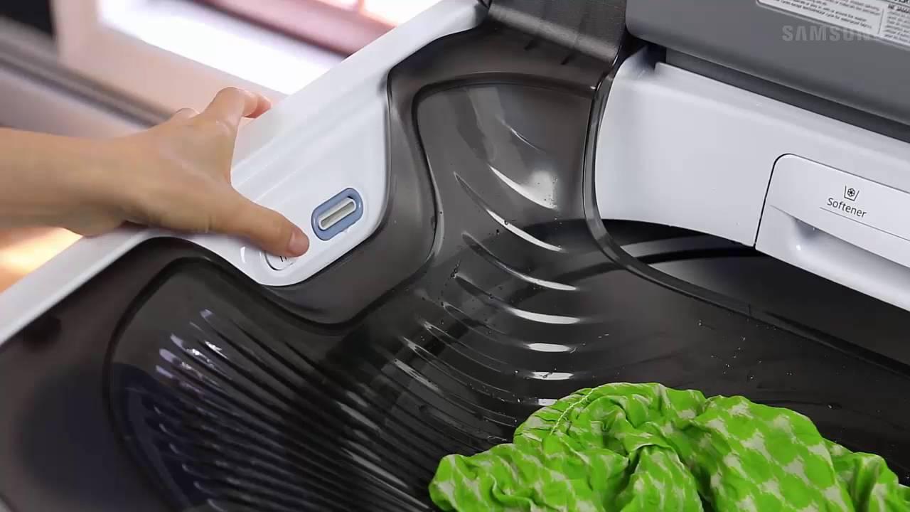 samsung activewash top load washer activewash built in sink wa8600