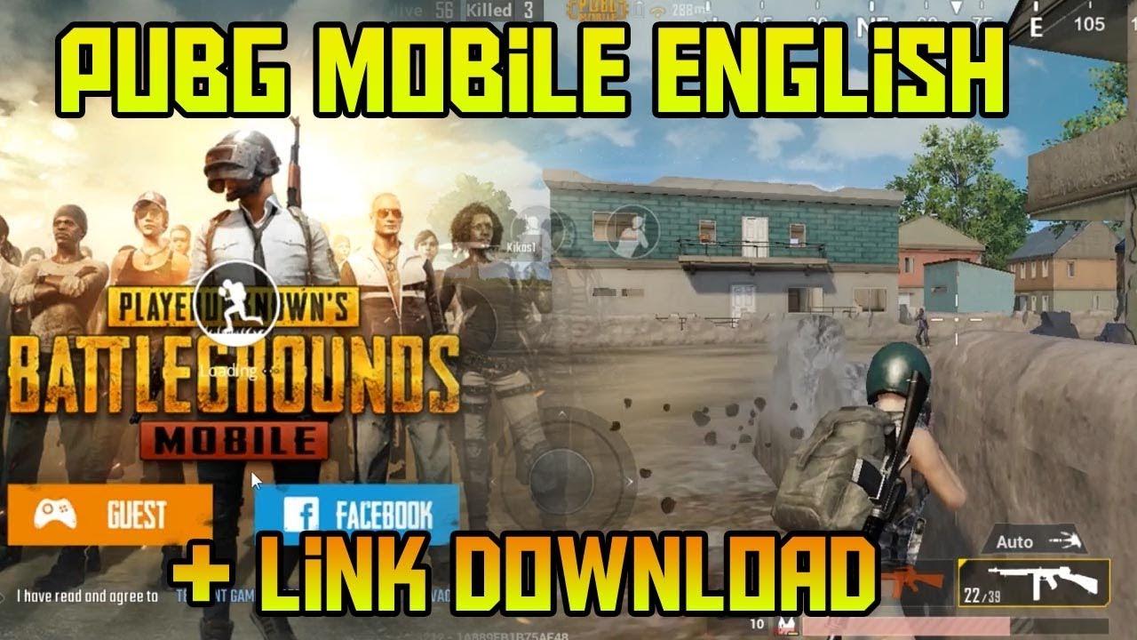 PUBG Mobile English Version + Link Download !!!